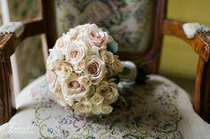 Twin Oaks Garden Estate Wedding | San Diego Wedding | Rainy Day Wedding | Brides Bouquet | Wedding Florals | Jessica Van of France Photographers