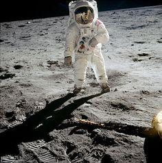Buzz Aldrin Portrait | Vintagraph