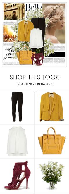"""""""#221"""" by vilte-m ❤ liked on Polyvore featuring Joseph, rag & bone, Wild Diva and New Growth Designs"""