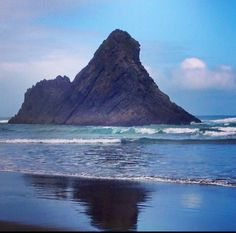 Karekare Beach , West Auckland, by Geeta Uka