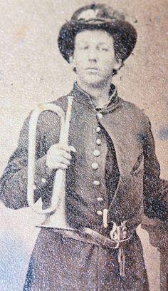 Armed Union bugler