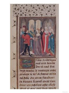 Marriage of Isabelle de Hainut, Queen of France (My 26th GG) to Philip II Agustus Capet, King of France (26th GG)