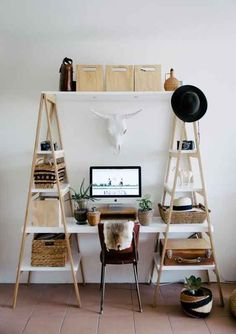 Create a productive, chic, and organized home office