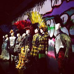 Vogue Paris Jean Paul Gaultier exhibition opens tonight at Le Grand Palais in Paris