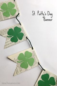Free Printable St. Patty's Day Banner