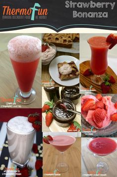 Strawberry Thermomix Recipes
