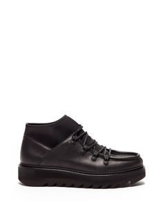 SHARK BOOT DESERT BOOTS IN LEATHER AND NEOPRENE WITH A SUPER LIGHT SOLE - Shoes Man - Alberto Guardiani