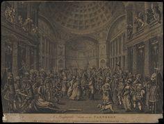 Masquerade at the Pantheon, 1773