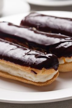 Delicious Homemade Eclairs #Recipe