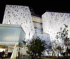 A night view of the Italian pavilion in Milano Expo 2015. #expo #expomilano2015 #milan #milanocity #travelblogger #instatravel #instago #instamood #instalike #instadaily #instapicture #instagood #milano #italy #milanocityufficiale #milanocityofficial #travelblogger #expo2015 #italyiloveyou #italia #italian