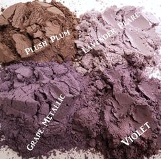 Purple Passion Collection Mineral Eye Shadow by LeonorasCosmetics