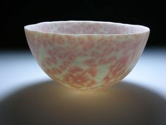 Dorothy Feibleman - Nerikomi technique (uses colored porcelain clays) bowl