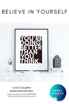 Need some encouraging wall art? This new print from Lizzie's Daughter is the inspiration you need to keep going. Available as a digital download or boutique print. #etsy #etsyshop #etsystore #etsyseller #etsylove #etsyfinds #etsygifts #etsyhandmade #shopetsy #shopsmall #etsyelite #etsymade #shophandmade #shopsmallbusiness #etsy #shopetsy #etsybestsellers #etsywomen #etsysellers #lizziesdaughter Handmade Shop, Etsy Handmade, Etsy Best Sellers, Words Of Hope, Type Posters, New Print, Letterpress, Printable Wall Art, Etsy Store