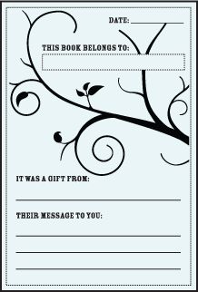 1000 images about diy library party ideas on pinterest for Free printable bookplates templates