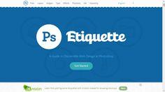Photoshop Etiquette: Basic Knowhow for Designing The Web Using Photoshop