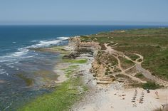 Good morning from Praia Dos Coxos - Ericeira. It's round about 50km out of Lisbon and a famous surfer spot.