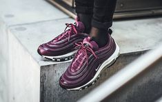 Nike Air Max 97 Premium Bordeaux Perfect For The Holidays