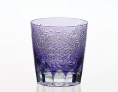 Edo Kiriko traditional craftsmen Nemoto Tatsuya work shochu rock glass