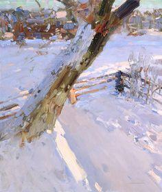 Bato Dugarzhapov - beautiful snow scene.