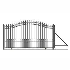 ALEKO® PARIS Style Slide Steel #Driveway_Gate 18' X 6 1/4' FREE SHIPPING!