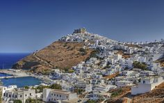 Astypalaia – Undiscovered Gem in the Aegean Sea, Greece Oh The Places You'll Go, Places To Visit, Greek Town, Greece Holiday, Medieval Castle, Archaeological Site, Greece Travel, Beautiful Islands, Greek Islands