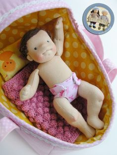 Tiny baby doll set by Lalinda.pl