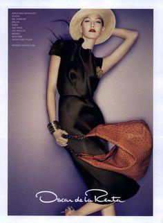 Oscar de la Renta Ad Campaign Spring/Summer 2010