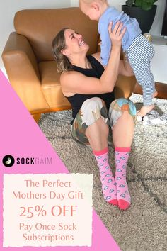 Mother's Day only comes around once a year, so when it does you have to make it count with the gift that keeps on giving.USE COUPON CODE – MD25 for 25% OFF #sockgaim #mothersday #socksofinstagram #australianartist #socksoftheday #perfectgift #sockswag #happysocks #watermelon #mothersdaygift #motherhood