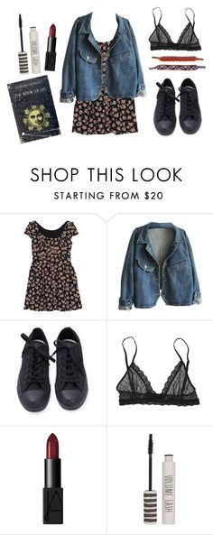 """Untitled #13"" by karolina-kushnir on Polyvore featuring Eberjey, NARS Cosmetics and Topshop"