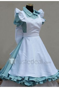 Gintama Kagura Alice Version Cosplay Dress