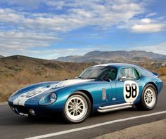 10 Of The Loudest Road Cars Ever Made! Click on the image and hear them ROAR! #Shelby #Daytona