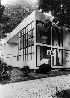 Le Corbusier Pavillon de l'Esprit Nouveau, Paris 1924 @fondationlecorbusier