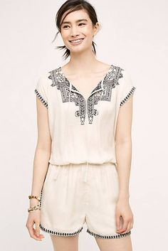 Great boho romper option, perfect for a casual day