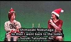 何が書けばいいのかな...? • Posts Tagged 'shimazaki nobunaga'
