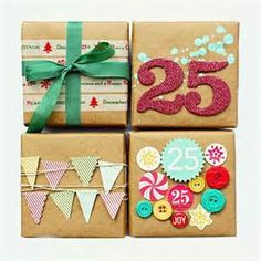 DIY gift wrapping ideas for Christmas Holidays. Wrap your gifts with cute, easy and simple gift wraps perfect for friends, family and kids. Best presents Creative Gift Wrapping, Creative Gifts, Diy Wrapping, Paper Wrapping, Christmas Gift Wrapping, Christmas Crafts, Christmas Lights, Birthday Wrapping Ideas, Christmas Holidays