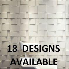 3D Board Feature Wall Decoration Wallpaper Wallsticker Paintable Tile 50cm 50cm   eBay