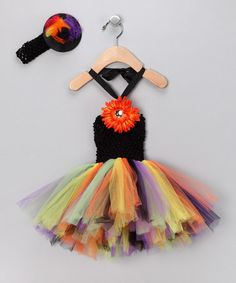 witch tutu set by hair candy store