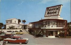 Tropical Manor Motel, 2237 So. Atlantic Ave Daytona Beach Florida