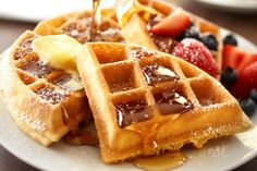 Country Inn & Suites By Carlson  Mount Morris, NY - Hot Waffles