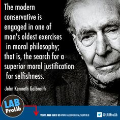 #Modern #Conservative: Search for a superior moral justification of selfishness.