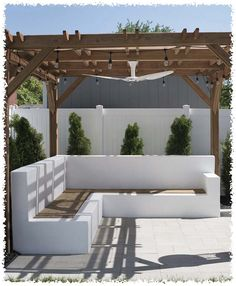 70 Cozy Backyard and Garden Seating Ideas for Summer Summer – it is a great season to enjoy outdoor time. Backyard there's nothing quite like relaxing in the backyard, so make sure you have . Cozy Backyard, Backyard Seating, Backyard Patio Designs, Garden Seating, Pergola Patio, Backyard Landscaping, Garden Sofa, Backyard Decorations, Outdoor Seating Areas