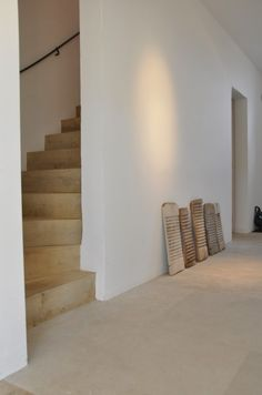 nice stair & antique washboard collection