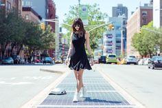 Flá Cavasotti usa Loft747 Road of Dreams em NYC
