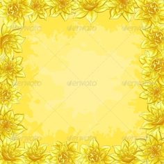 Background, Frame from Flowers  #GraphicRiver         floral background, frame from flowers narcissus  	 Vector EPS 8 plus AI CS 5 plus high-quality Jpeg. Editable vector file, containing only vector shapes. No gradients. No transparencies.     Created: 22December12 GraphicsFilesIncluded: JPGImage #VectorEPS #AIIllustrator Layered: No MinimumAdobeCSVersion: CS5 Tags: art #background #bloom #blooming #blossom #botanic #brown #drawing #flora #floral #flower #frame #framework #fresh #garden…