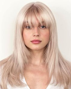 46 Best Long Bob Haircuts for Any Face Shape hairstyles # hairstyles Haircuts For Long Hair With Bangs, Curly Hair With Bangs, Hairstyles With Bangs, Shaved Hairstyles, Men's Hairstyle, Formal Hairstyles, Wedding Hairstyles, Medium Hair Cuts, Medium Hair Styles