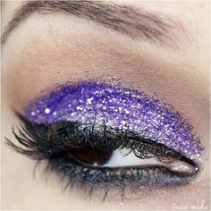 Maquiagem Roxa - Glitter 16 Roxo Dailus Color  - tudo make