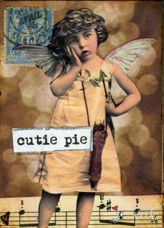 Altered Art:   Mixed Media Art, Collage Art, Vintage photo art,