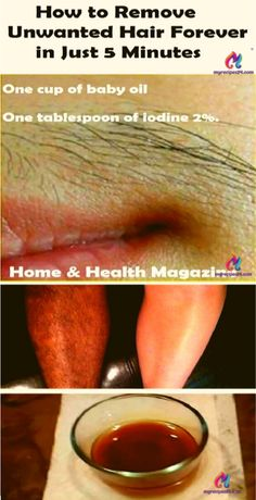 How to Remove Unwanted Hair Forever in Just 5 Minutes!! – Anything Good
