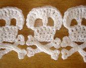 for angus beanie  crochet skull and cross bones pattern