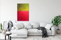 Original Abstract Painting by Gordon Sellen Complimentary Colors, Bold Colors, Colours, Acrylic Painting Canvas, Canvas Art, Canvas Size, Original Paintings, Original Artwork, Abstract Styles